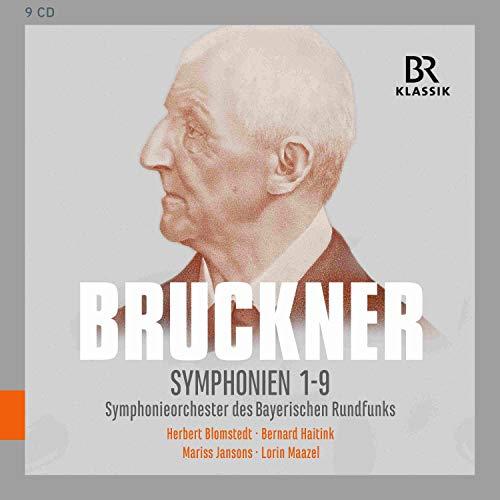 Bruckner , Anton - Symphonien 1-9 (SOBR, Blomstedt, Haitink, Jansons, Maazel) (9-CD BOX SET)