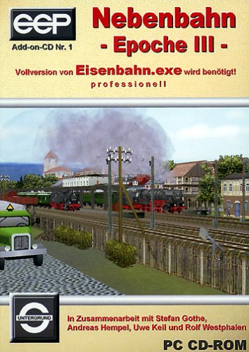 PC - Nebenbahn Epoche 3 - Add On zu Eisenbahn-Exe prof.