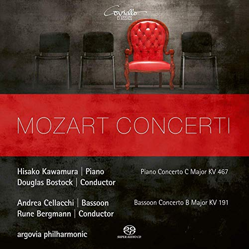 Mozart , Wolfgang Amadeus - Mozart Concerti - Piano Concerto, K. 467 (Kawamura / Bostock) / Bassoon Concerto, K. 191 (Celacchi / Bergmann) (Argovia Philharmonic) (SACD)