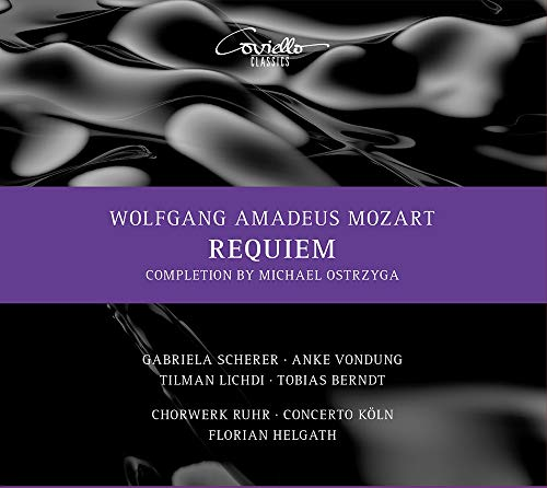 Mozart , Wolfgang Amadeus - Requiem (Scherer, Vondung, Lichdi, Berndt, Helgath)