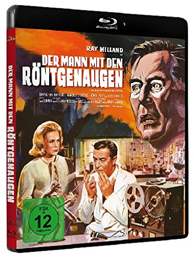 Blu-ray - Der Mann mit den Röntgenaugen [Blu-ray] [Limited Edition]