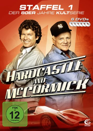 DVD - Hardcastle and McCormick - Die komplette erste Staffel (6 DVDs - Amaray)
