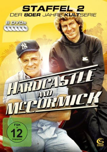 DVD - Hardcastle and McCormick - Die komplette zweite Staffel (6 DVDs - Amaray)