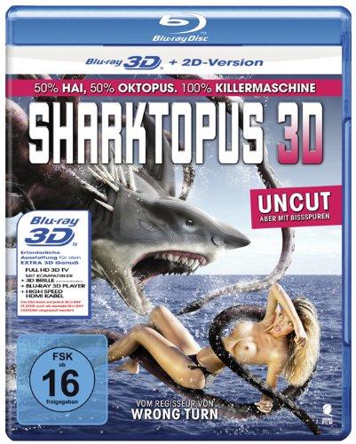 Blu-ray - Sharktopus 3D