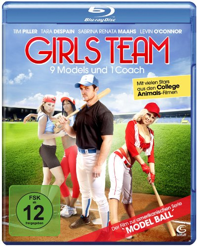 Blu-ray - Girls Team - 9 Models und 1 Coach