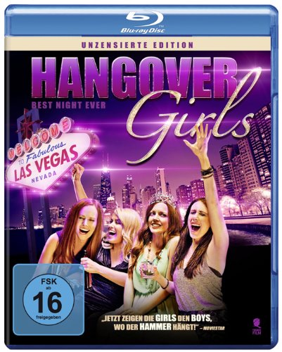Blu-ray - Hangover Girls - Best Night Ever (Uncut Party Edition)