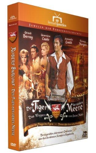 DVD - Der Tiger der sieben Meere - Das Wappen von Saint Malo (fernsehjuwelen - Juwelen der Fernsehgeschichte)
