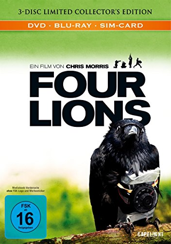 Blu-ray - Four Lions (Limited Collector's MediaBook Edition)