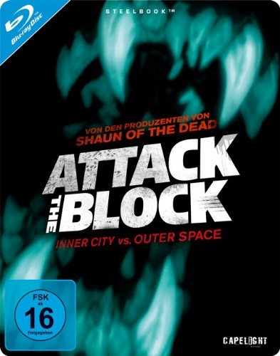 Blu-ray - Attack The Block - Inner City Vs. Outer Space (Limited Steelbook Edition)