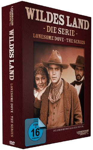 DVD - Wildes Land - Die Serie (Lonesome Dove - The Series)
