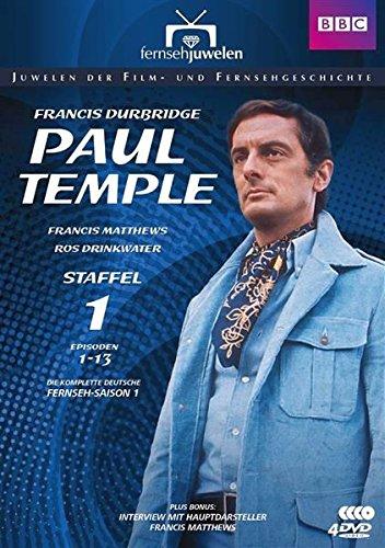 DVD - Francis Durbridge: Paul Temple - Staffel 1 (Episoden 1-13)