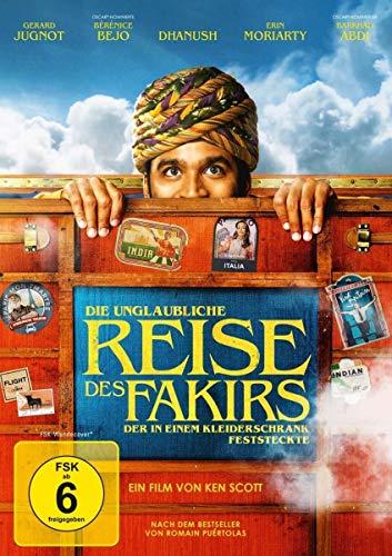 DVD - Die unglaubliche Reise des Fakirs, der in einem Kleiderschrank feststeckte