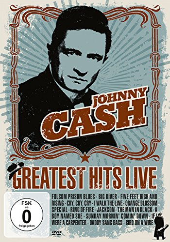 Cash , Johnny - Greatest Hits Live