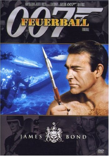DVD - James Bond 007 - Feuerball