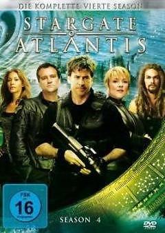 DVD - Stargate Atlantis - Staffel 4