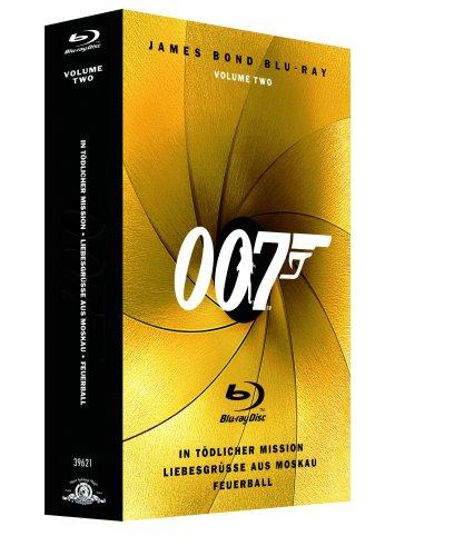 Blu-ray - James Bond 007 Box - Volume 2