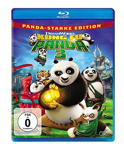 Blu-ray - Kung Fu Panda 3 (Panda-starke Edition) (DreamWorks)