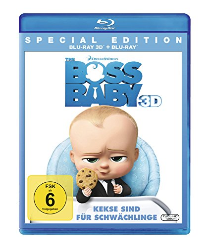 Blu-ray - The Boss Baby 3D (  Blu-ray) (Special Edition)