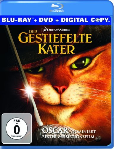 Blu-ray - Der gestiefelte Kater (Blu-ray   DVD   Digital Copy)