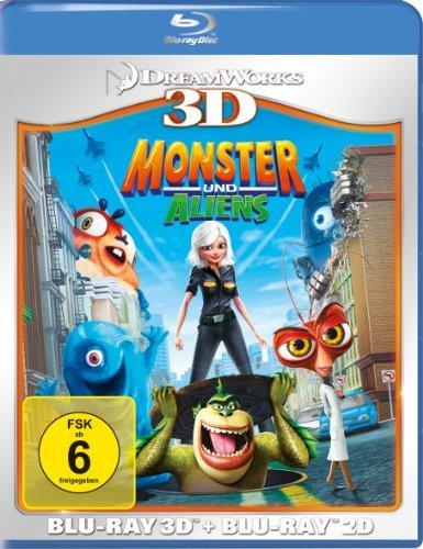 Blu-ray - Monster und Aliens 3D
