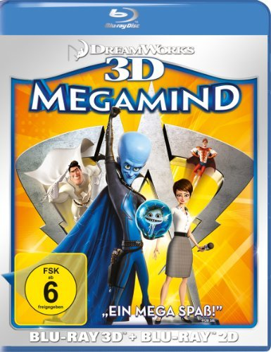 Blu-ray - Megamind 3D
