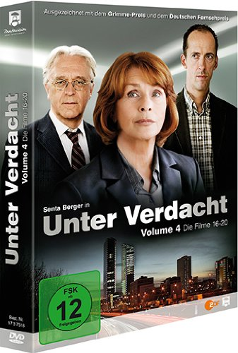 DVD - Unter Verdacht 4 (Filme 16 - 20)