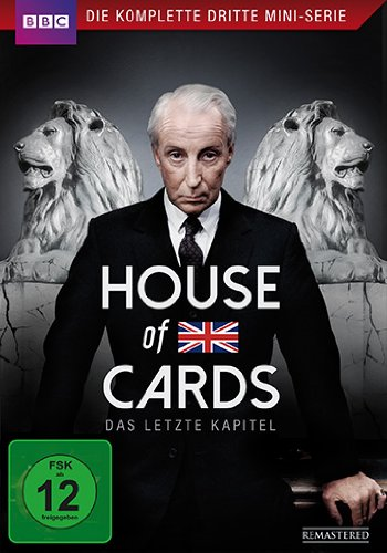 DVD - House of Cards - Staffel 3 (BBC)