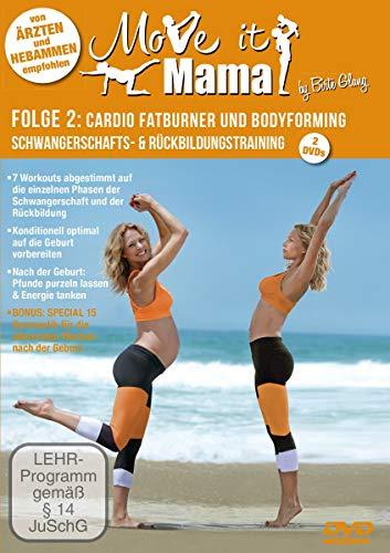 Glang, Birte, Glang, Birte - Move it Mama -Schwangerschafts- & Rückbildungstraining Folge 2: Cardio Fatburner und Bodyforming [2 DVDs]