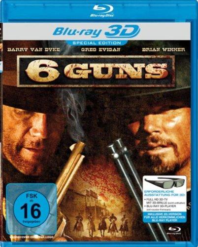 Blu-ray - 6 Guns 3D (Ungeschnittene Unrated Fassung)