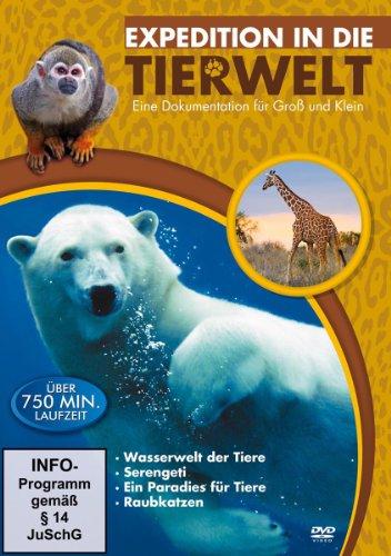 DVD - Expedition in die Tierwelt - Eine Dokumentation für Groß und Klein