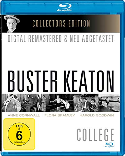 Blu-ray - Buster Keaton: College (Remastered) (Collector's Edition)