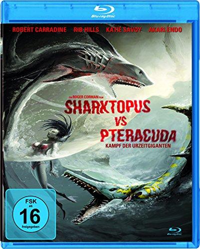 - Sharktopus vs Pteracuda - Kampf der Urzeitgiganten [Blu-ray]