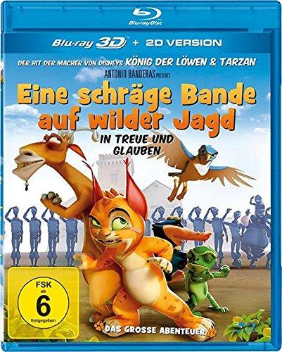 Blu-ray - Eine schräge Bande auf wilder Jagd 3D