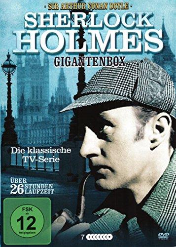DVD - Sherlock Holmes Gigantenbox - Die klassische Serie (Special Edition)