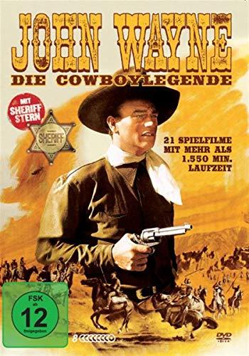 DVD - John Wayne - Die Cowboylegende (21 Spielfilme) (8 DVDs   Sheriff Stern)