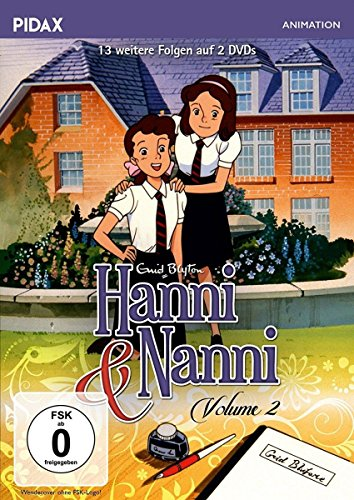 DVD - Hanni & Nanni Volume 2 (13 Folgen) (PIDAX Animation)