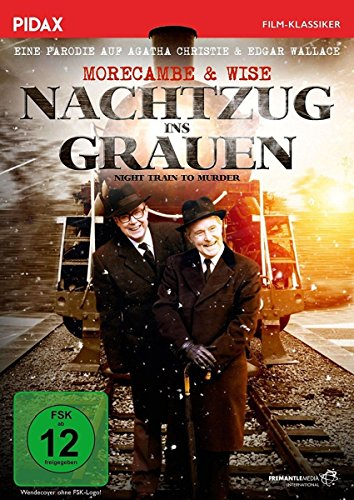 DVD - Nachtzug ins Grauen (Night Train To Murder) (Morecambe & Wise) (PIDAX Film-Klassiker)