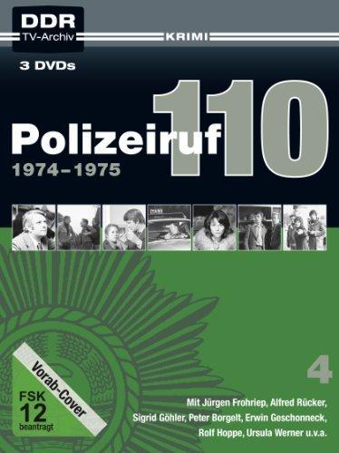 DVD - Polizeiruf 110 - Box 4 (1974 - 1975)