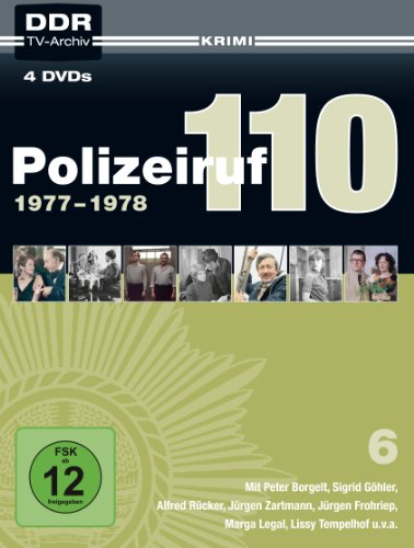 DVD - Polizeiruf 110 - Box 6 (1977-1978)