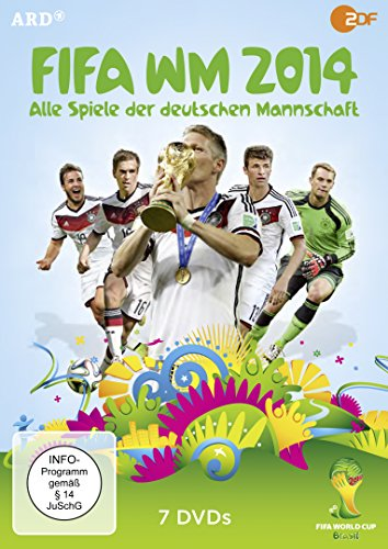 DVD - FIFA WM 2014 - Alle Spiele der deutschen Mannschaft [7 DVDs]