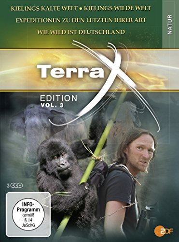 - Terra X: Kielings wilde Welt - Kieling: Expeditionen zu den letzten ihrer Art - Kielings wildes Deutschland [3 DVDs]