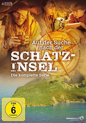 DVD - Auf der Suche nach der Schatzinsel - Die komplette Serie