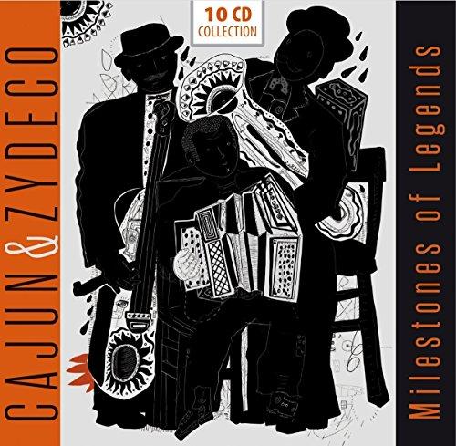 Sampler - Cajun & Zydeco - Milestones Of Legends (10-CD BOX SET)