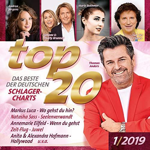 Sampler - Top 20 - 1/2019 - Das beste der Deutschen Schlager-Charts