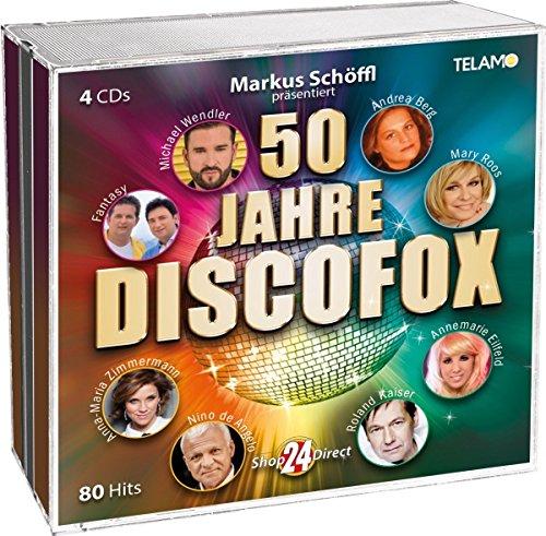 Sampler - 50 Jahre Discofox (4 CD-Set)