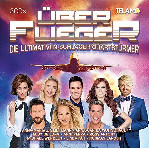 Sampler - Über Flieger - Die Ultimativen Schlager Chartstürmer