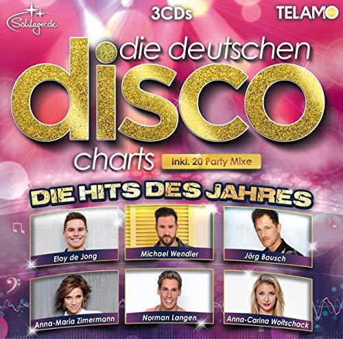 Sampler - Die Deutschen Disco Charts - Hits des Jahres 2018
