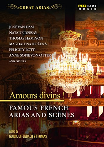 DVD - Amours Divins! - Famous French Arias And Scenes - Works By Gluck, Offenbach & Thomas (Hampson, Kozena, Otter, a.o.) (Great Arias)