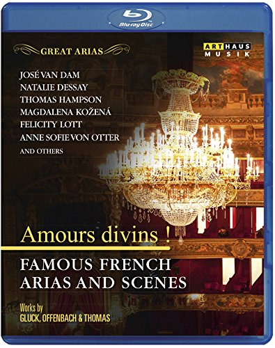 - Great Arias - Amours divins ! - Famous French Arias and Scenes [Blu-ray]