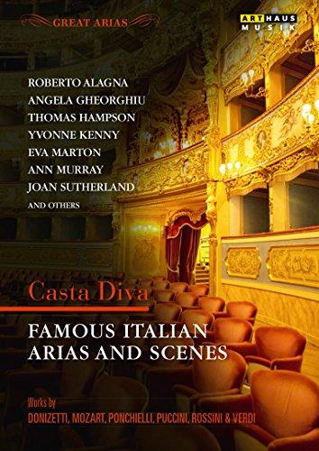 DVD - Great Arias - Casta Diva - Famous Italian Arias and Scenes [DVD]